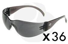 Safety Glasses- SGA- Smoke Lens- Cobra - Buy Bulk- 3x Boxes 36 Pairs