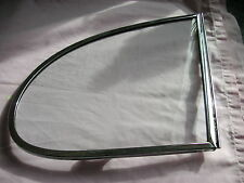 Jaguar Mk2/ Daimler 250 V8 rear drivers side quarter light glass
