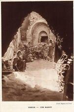 TOZEUR UNE MAISON A HOUSE TUNISIE TUNISIA IMAGE 1939 PRINT
