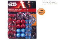 Star Wars VII Mega Mix Value Pack Party Favours 48 Piece 8 Person Party Supplies