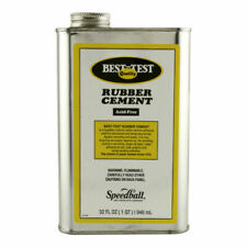Speedball Art Products 142 Best Test Acid Rubber Cement 320z Can