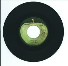 """1969 THE BEATLES """"GET BACK"""" AND """"DON'T LET ME DOWN"""" 45 rpm 7"""""""