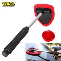 MicroFiber Windshield Clean Car Auto Wiper Cleaner Glass Window Tool Brush D1P2