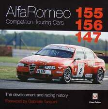 BOEK/LIVRE/BOOK : ALFA ROMEO 155 156 147 COMPETITION CARS (touring,racing