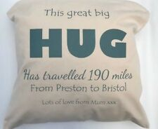 Big HUG Cushion Cover - send a gift across the miles to someone special