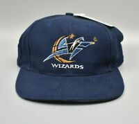 Washington Wizards Logo 7 NBA Vintage 90s Snapback Cap Hat - NWT