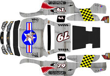 TRAXXAS UDR ULTIMATE DESERT RACER ARMOUR STAR Theme  wrap decals stickers