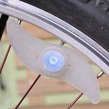 Bike Light Bicycle Cycling Spoke Wire Tire Tyre Silicone LED Wheel Colorful