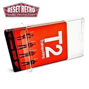 5x Klarsicht Schutzhüllen für BLU-RAY STEELBOOK 0,5 mm protector box cases folie