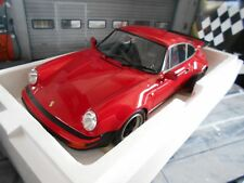 PORSCHE 911 930 Turbo Coupe strawberry red rot 3.0 1976 Minichamps RIESIG 1:12