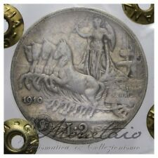 (Monetaio) Vittorio Emanuele III 2 Lire 1910 Quadriga Veloce R BB Argento