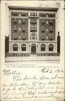 Gloversville NY Kingsborough Hotel c1905 Postcard
