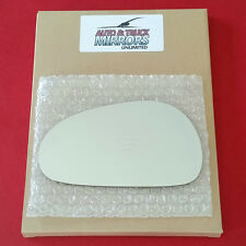 NEW Mirror Glass + ADHESIVE 94-04 FORD MUSTANG Driver Left Side ** FAST SHIP **