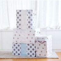 Durable Quilt Storage Bag Clothes Blanket Closet Sweater Box Pouch Organizer