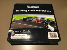 Bunnings Building Block Warehouse (168pcs) Compatible with Other Blocks
