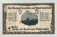 """Notgeld - Frose - Gemeinde Frose in Anhalt - 75 Pfennig - 1921 - """"Rätselschein"""""""