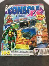 Console XS Magazine Issue 1 1992 - Hints Tips Walkthroughs Cheats Sega Nintendo