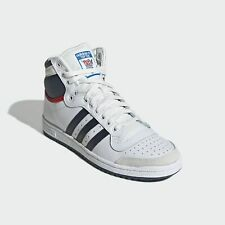 adidas Originals Top Ten Hi Shoes Men Trainers Lifestyle Beige UK size 7