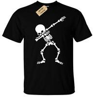 Dabbing Scheletro T-Shirt Uomo DAB Top