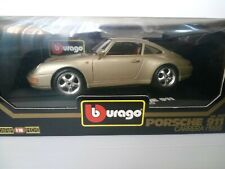 BBURAGO BURAGO 1/18 PORSCHE 911 993 COUPE RARE COLOR
