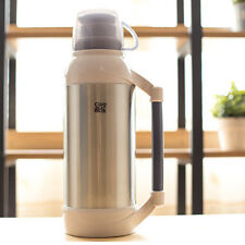 Cille Chrome Thermos Drinking Container Flask with Cup 2L / 2 Litre