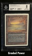 BGS Unlimited Underground Sea 8 (8687) Magic Beckett Graded MTG