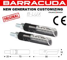 Barracuda Coppia Frecce Idea B-Lux Nere Led Universali HONDA CB 1000 R