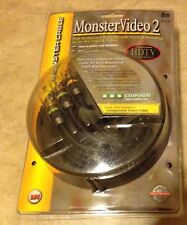 Monster Cable Video 2 8 meter 26.2 Feet Component video MV2CV-8M NEW sealed