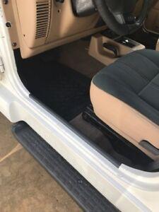 Door Entry fits Jeep Wrangler TJ Guard inside door sill protector
