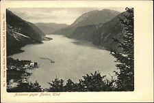 Pertisau Österreich Tirol AK ~1900 Achensee See Gewässer Landschaft Berge Alpen