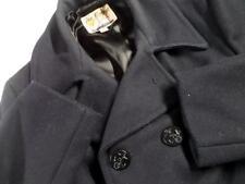 vtg 1960s Peacoat FOX KNAPP Navy Blue 40 Medium Wool