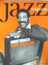 JAZZ MAGAZINE 201 MAX ROACH COLETTE MAGNY JOHN COLTRANE JAZZ MAD IN ENGLAND 1972