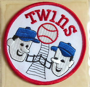 1972 MINNESOTA TWINS Willabee & Ward LOST TREASURES of BASEBALL TEAM PATCH ONLY