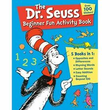 The Dr. Seuss Beginner Fun­ Activity Book: 5 Books in­  - Paperback / softback N