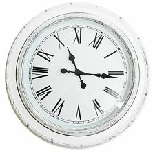 40cm or 60cm Grey or White Large Giant Big Huge Antique Round Wall Clock Gift