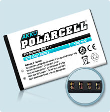 PolarCell Akku für Motorola Defy+ Plus MB526 Defy mini XT320 HF5X Batterie Accu
