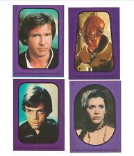 1983 Topps  Return Of The Jedi Trading Card Stickers U-Pick 2