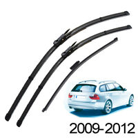 "3Pcs Front Rear Windscreen Wiper Blades For BMW 3 Series E91 09-12 24""19""14"""