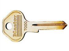 Key Rough Master Lock 7000K Brass for Padlocks Single Key Blanks