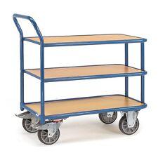 Tischwagen Magazinwagen Wagen Ladefläche 1000x700mm Tragkraft 400kg Fetra 2612