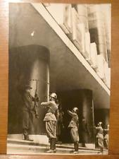 MOSTRA DELLA RIVOLUZIONE FASCISTA Cambio della Guardia 4 fotografie originali
