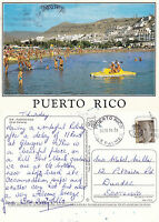 1990's PUERTO RICO THE CANARIES SPAIN COLOUR POSTCARD