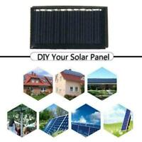 Solar Panel System5V 25MA For DIY Battery Cell Phone Module Charger W3C0