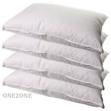 2 X Luxury Duck Feather and Down Pillow Cotton Soft Extra Filling Hotel Quality