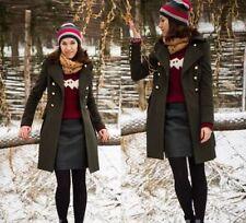 Zara Button Military Coats & Jackets for Women