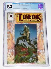 TUROK DINOSAUR HUNTER #1 – Valiant Comics 1993 * CGC 9.2 * WHITE pages