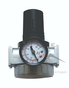"1/2"" Air Pressure Regulator for Compressed Air Compressor w/ Gauge"