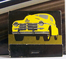 Rare Vintage Matchbook T1 San Antonio Texas Chuy's Comida Deluxe Cool Car Design