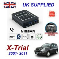 For Nissan Xtrial Music Streaming Bluetooth Telephone Charger SD AUX CD Module
