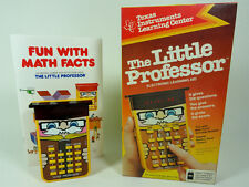 1978 ORIGINAL LITTLE PROFESSOR CALCULATOR - TEXAS INSTRUMENTS - NEW, MINT IN BOX